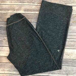 Lululemon Wide Leg Gray Yoga Workout Fitness Pants